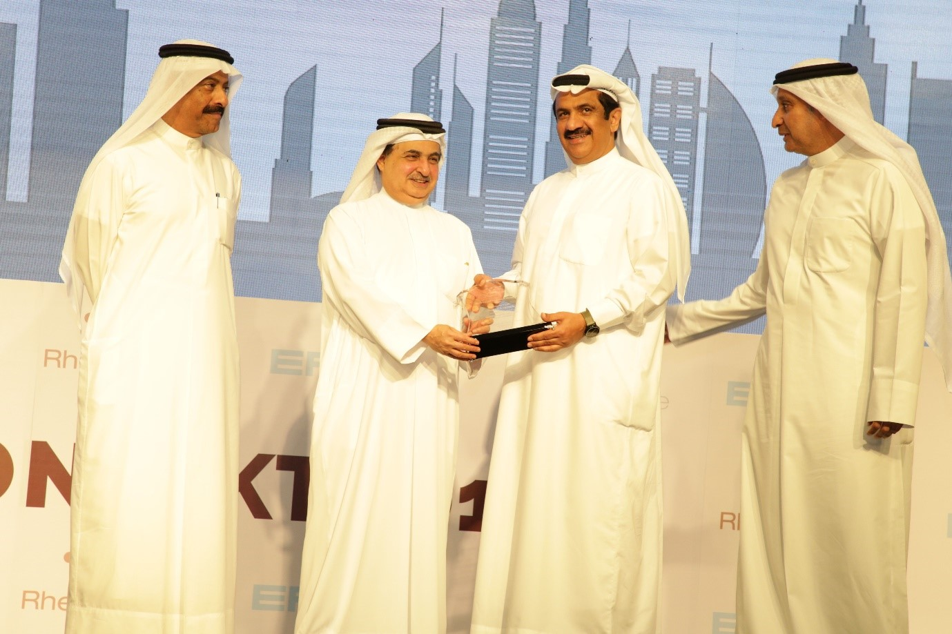 His Excellency Jamal Saif Al Jarwan for Contribution to Economic Ecosystem